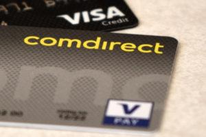 Comdirect Girocard und Kreditkarte
